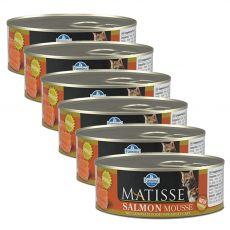 Farmina MATISSE pentru pisici Somon 6 x 85 g, 5+1 GRATUIT