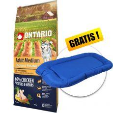 ONTARIO Adult Medium - chicken & potatoes 12kg