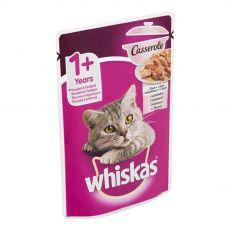 Whiskas Casserole pliculeț cu somon 85 g