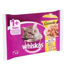 Whiskas Casserole Selecție cu pasăre în gelatină 4 x 85 g