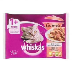 Whiskas Casserole Selecție clasică în gelatină 4 x 85 g