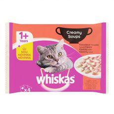 Whiskas selecție clasică de supe cremă 4 x 85 g