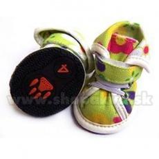 Pantofi câini din pânză arabici – verde (4buc) – mărime 3