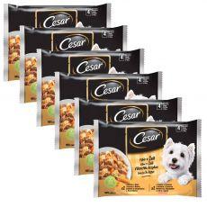 Cesar pliculeț cu selecție în gelatină 6 x (4 x 100 g)
