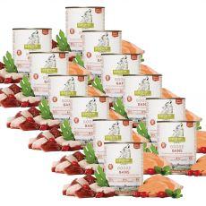 ISEGRIM Adult Prairie:Gâscă cu cartofi dulci, măceşe și ierburi 12 x 800 g