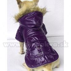 Jachetă de ploaie pentru câine– violet, XS
