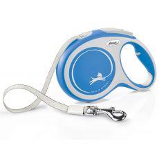 Flexi NEW COMFORT lesă L cu până la 50kg, 8m cablu – albastru