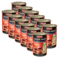 Conservă GranCarno Original Adult beef - 12 x 400g