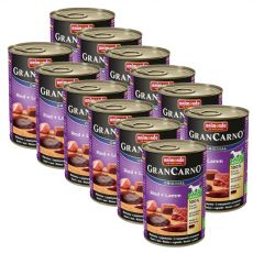 Conservă GranCarno Original Adult  Vită + Miel - 12 x 400g
