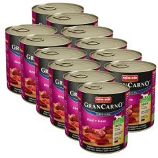 Conservă GranCarno Original Adult Beef and heart- 12 x 800g