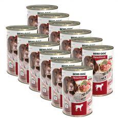 Nou Conservă BEWI DOG – Veal, 12 x 400g
