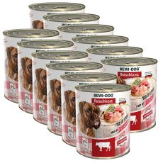 Nou Conservă BEWI DOG – Beef Tripe, 12 x 800g