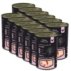 Can Fitmin For Life PUPPY Chicken 12 x 400 g