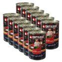 Conservă ONTARIO Culinary Beef Goulash 12 x 400 g