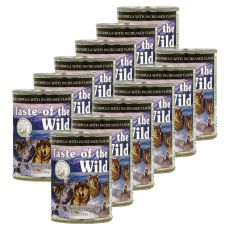 TASTE OF THE WILD Wetlands Canine - cutie  conservă, 12 x 390g