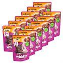 Whiskas pliculeț de pui în gelatină 12 x 100 g