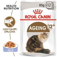 Royal Canin AGEING +12 pungi de aluminiu 12 x 85g