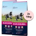 Eukanuba Caring Senior Medium Breed 2 x 15 kg
