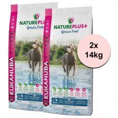 Eukanuba Nature Plus+ Puppy Grain Free Salmon 2 x 14 kg