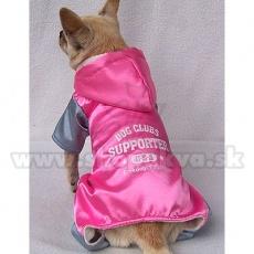 Combinezon sport pentru câini – roz gri, XL
