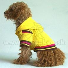 Hanorac câine – galben, M
