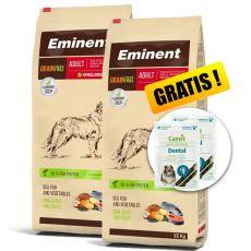 EMINENT Grain Free Adult 2 x 12 kg + CADOU