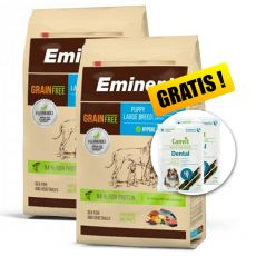 EMINENT Grain Free Puppy Large Breed 2 x 12 kg + CADOU