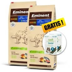 EMINENT Grain Free Adult Large Breed 2 x 12 kg + CADOU