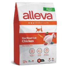 Alleva EQUILIBRIUM Cat Chicken Sterilized 1,5 kg