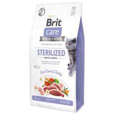 Brit Care Cat Grain-Free Sterilized Weight Control 7 kg