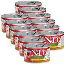 Farmina N&D dog Quinoa Quail & Coconut 12 x 140 g