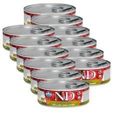 Farmina N&D cat Quinoa Duck & Coconut can 12 x 80 g