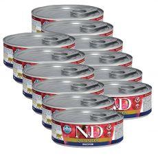 Farmina N&D cat Quinoa Digestion can 12 x 80 g
