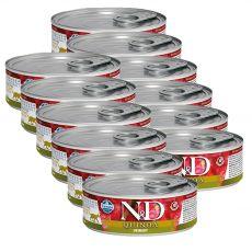 Farmina N&D cat Quinoa Urinary can 12 x 80 g