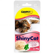 GimCat ShinyCat pui + homar 2 x 70 g