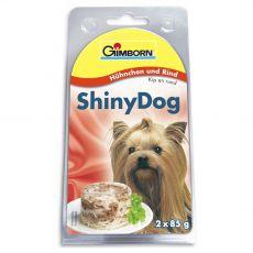 GimBorn ShinyDog  pui+ vită 2 x 85 g