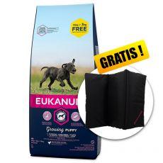 EUKANUBA PUPPY & JUNIOR Large Breed 15kg + 3kg GRATIS + CADOU