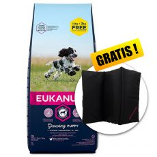 EUKANUBA PUPPY Medium Breed 15kg + 3kg GRATUIT + CADOU