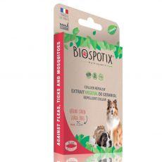 BIOGANCE Biospotix Large dog L-XL zgardă  75 cm cu efect repelent