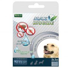 MAX BIOCIDE Picături antiparazitare pentru câini 3 x 3 ml