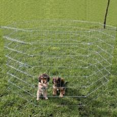 Țarc pentru cățeluși și câini mici