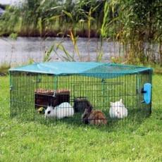 Căsuţă pentru cobai si pentru iepuri
