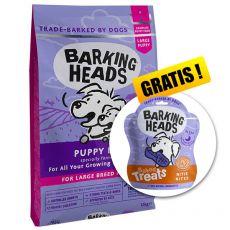 BARKING HEADS Puppy Days PUPPY LARGE BREED 12 kg + CADOU