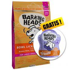 BARKING HEADS Bowl Lickin' Chicken ADULT LARGE BREED 12 kg + CADOU