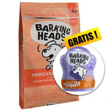 BARKING HEADS Pooched Salmon ADULT 12 kg + CADOU