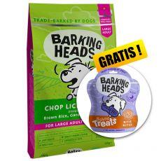 BARKING HEADS Chop Lickin' Lamb ADULT LARGE BREED 12 kg + CADOU