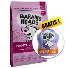 BARKING HEADS Doggylicious Duck GF ADULT 12 kg + CADOU