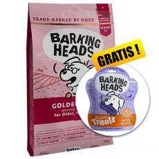 BARKING HEADS Golden Years SENIOR 12 kg + CADOU