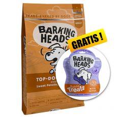 Barking Heads Top Dog Turkey Grain Free 12 kg + CADOU