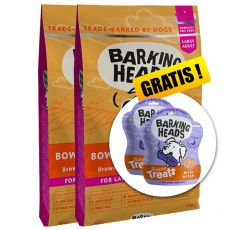 BARKING HEADS Bowl Lickin' Chicken ADULT LARGE BREED 2 x 12 kg + CADOU